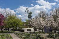 Gartenwelt und Eberkran im Familiengarten Eberswalde, Foto: TMB-Fotoarchiv/Steffen Lehmann