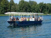 Überfahrt zur Insel Großer Werder, Foto:Fähre Liepnitzsee