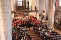 Chorauftritt in der St. Marien Kirche, Foto: Bernauer Sänger e.V.