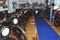 Blick ins Motorradmuseum, Foto: M. Tucholl